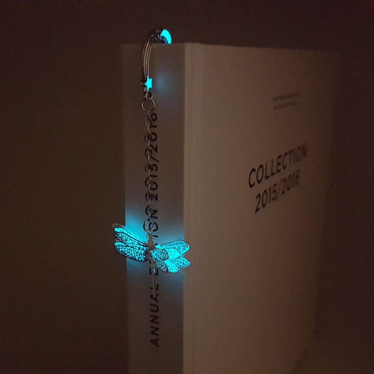 Karanlıkta Parlayan Neon Kitap Ayracı