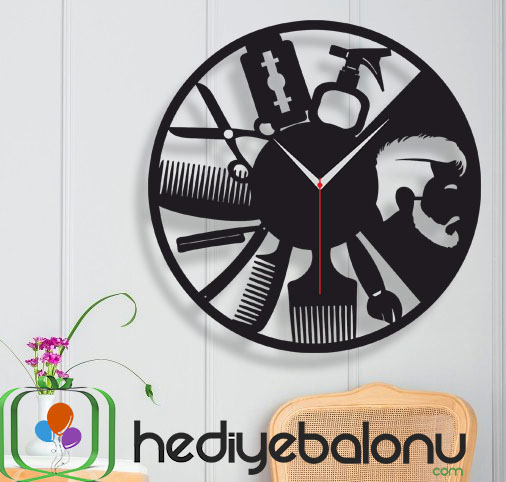 Berber Temalı Dekoratif Duvar Saati