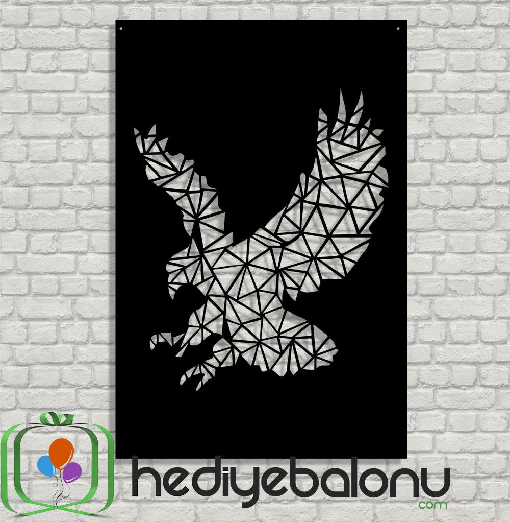 Kartal Geometrik Dekoratif PleksiGlass Tablo