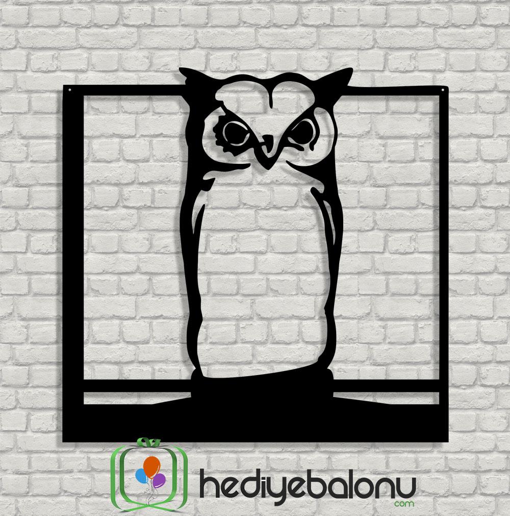 Owl (Baykuş) Ahşap Duvar Tablosu
