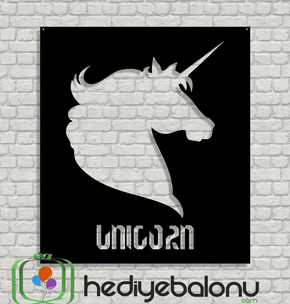 Unicorn Ahşap Duvar Tablosu